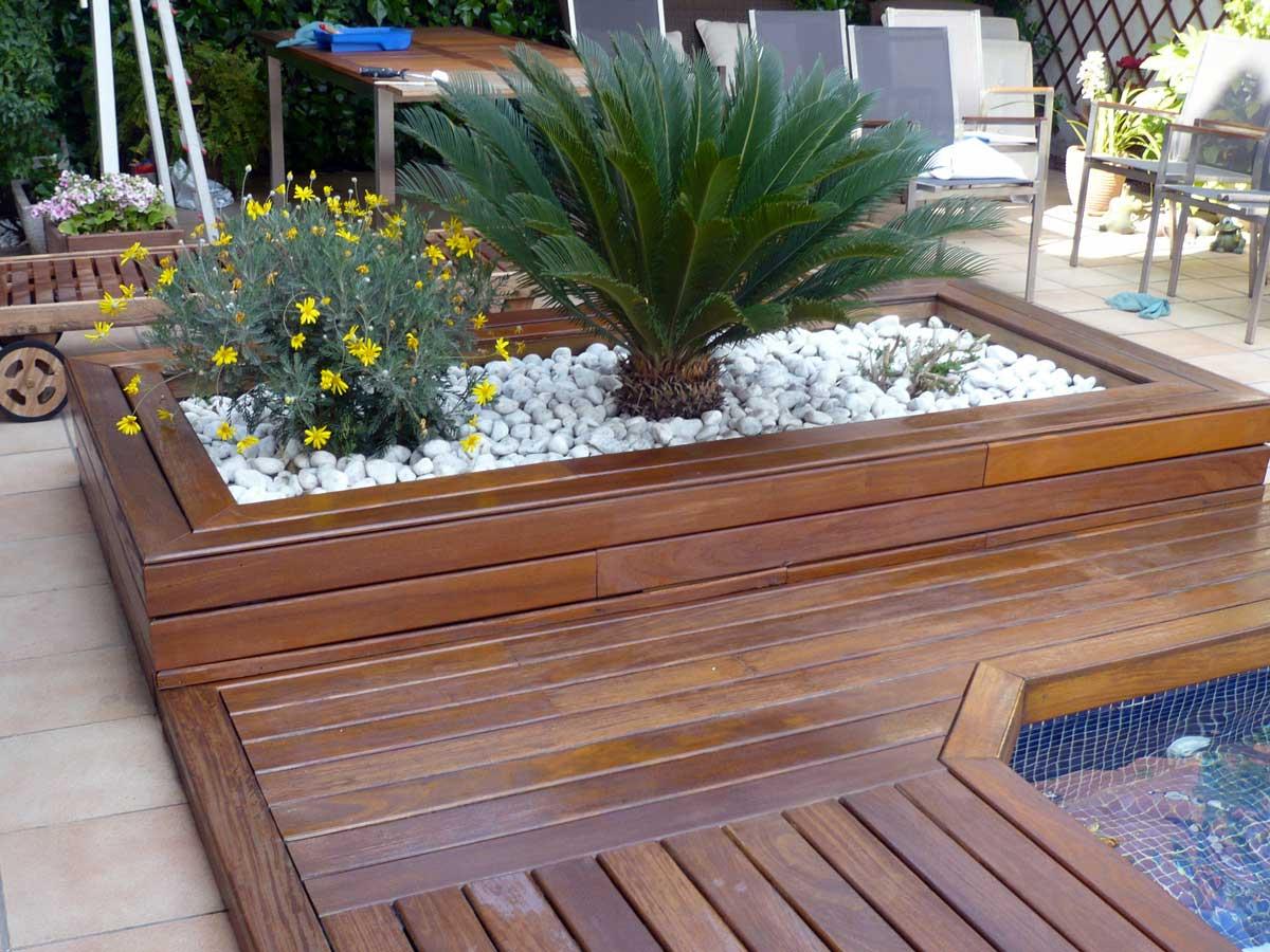 Barnizado madera piscina lynxcolor - Barnizar madera exterior ...